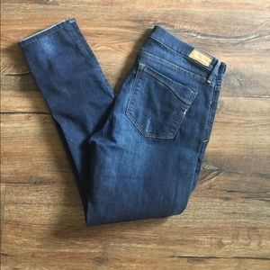 Express Super Skinny Mid Rise Jeans Stretch 12R.